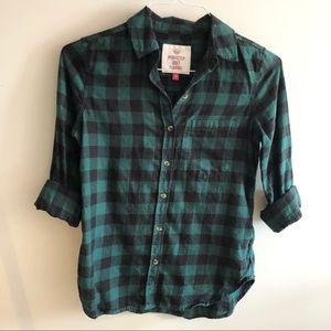Green & Black Flannel
